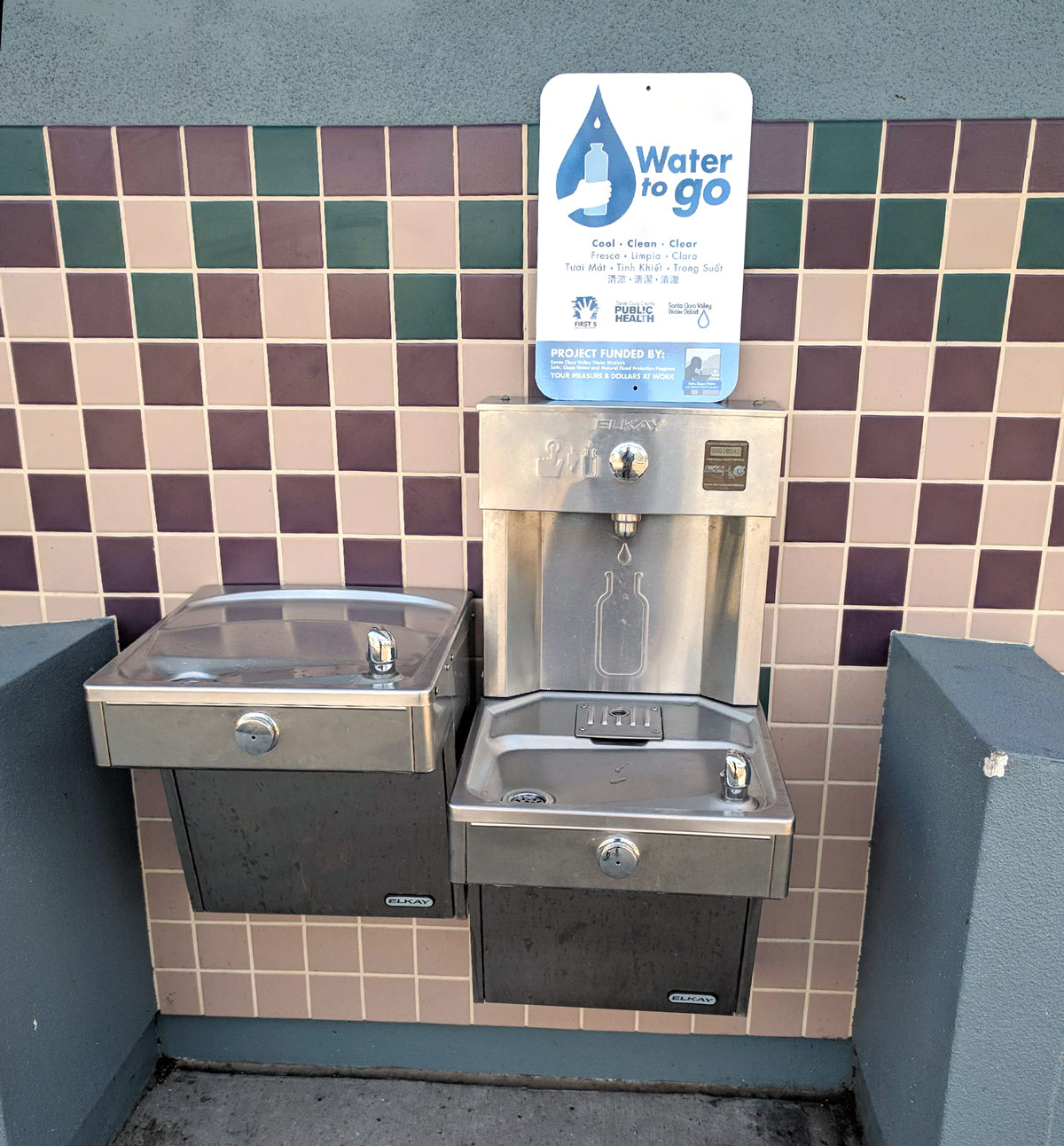 Water to Go station