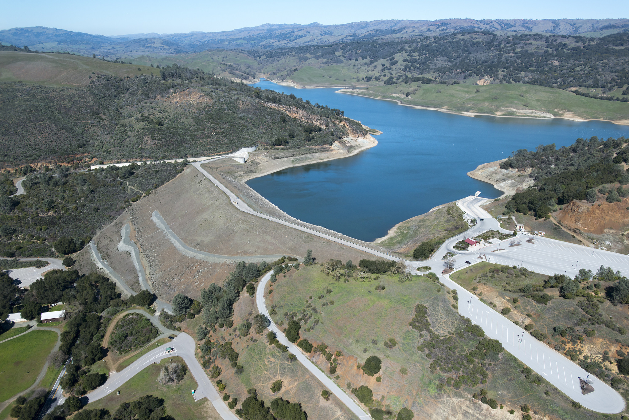Anderson dam and reservoir