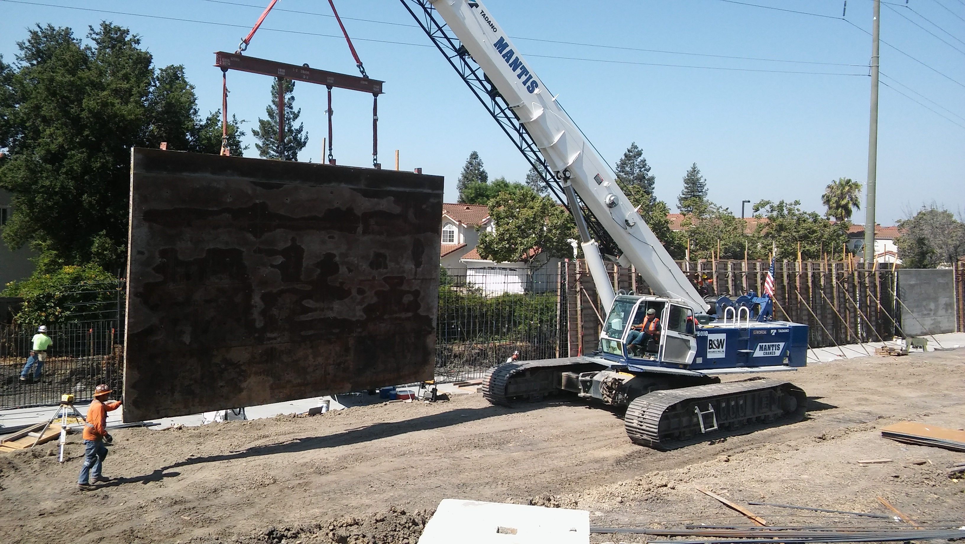 Lower Berryessa Creek Phase 2 construction