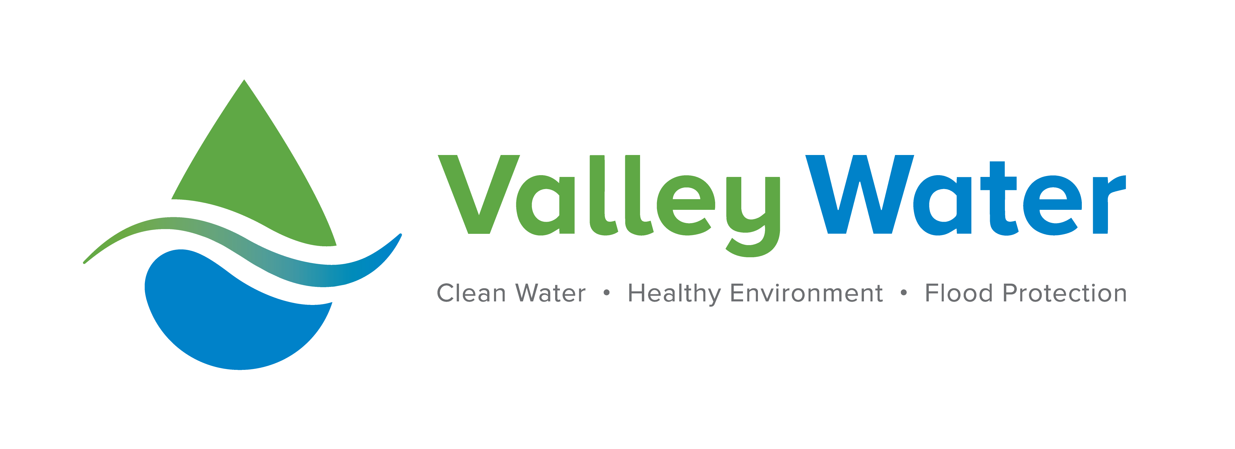 valley water logo with tagline