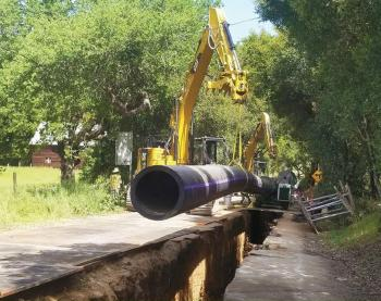 Main and Madrone pipeline project