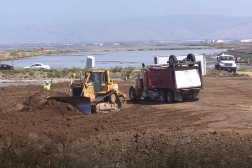 Pre-construction activities resume for South Bay Shoreline