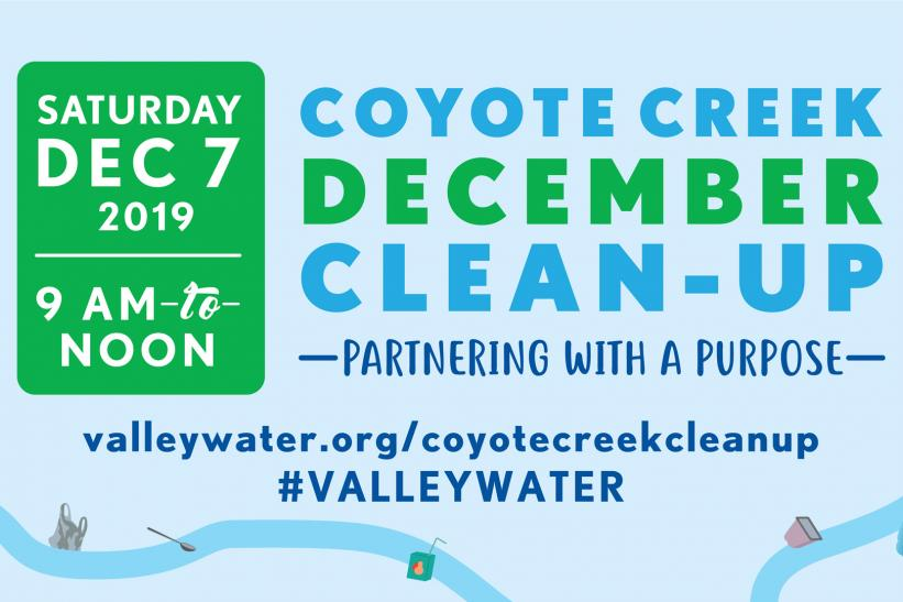 Coyote Creek Cleanup poster