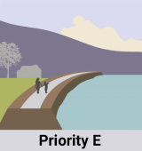 Priority E: Provide Flood Protection to Homes, Businesses, Schools and Highways