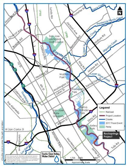 Coyote Creek Flood Protection Santa Clara Valley Water